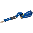 25 mm Polyester Lanyard with Plastic Clip